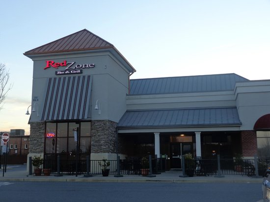 Redzone Bar and Grill :                                                                         Main Entrance