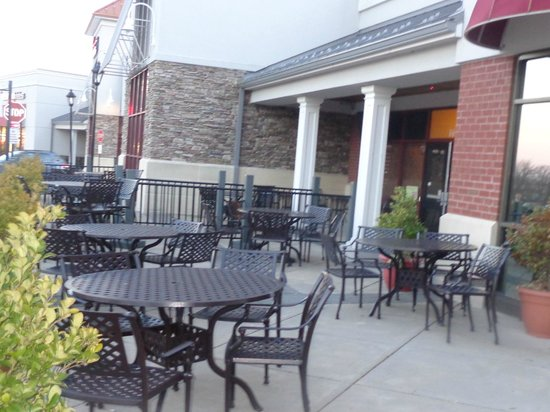 Redzone Bar and Grill:                                                                         Patio / Bar