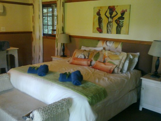 Gooderson Bushlands Game Lodge:                                     Schlafzimmer