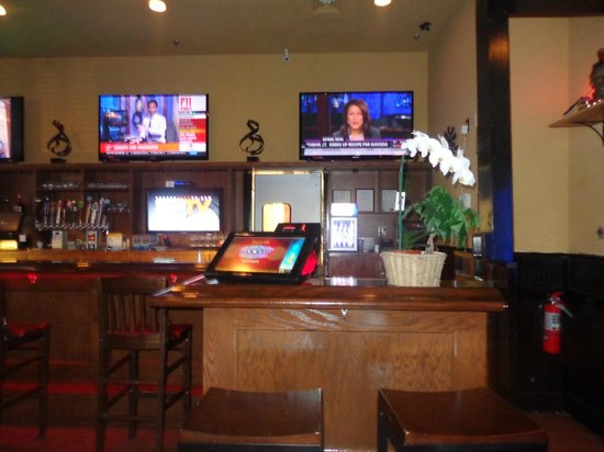 Redzone Bar and Grill:                                     Inside View area 1