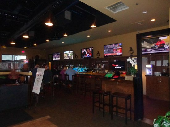Redzone Bar and Grill:                                     Inside view area 2