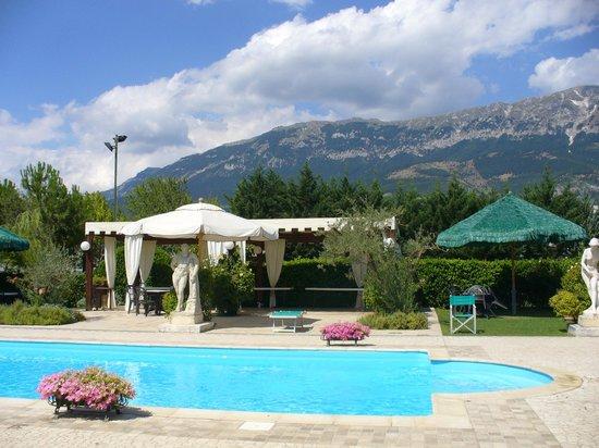 Hotel Santacroce Meeting:                   Splendida piscina