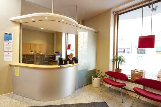 Hellsten Helsinki Parliament: Hellsten Hotels Parlaiment - Reception