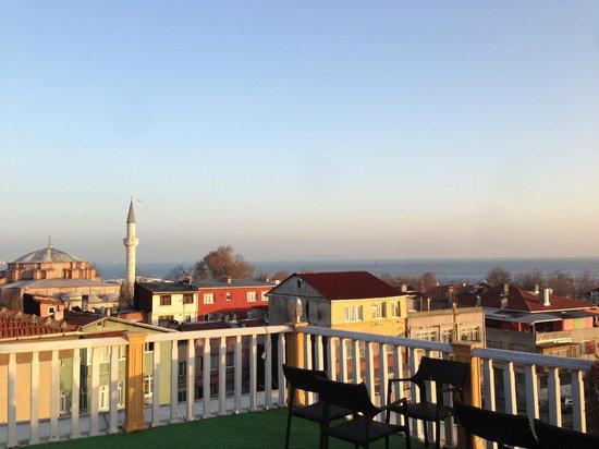 Best Western Antea Palace Hotel & Spa:                   Blick von der Dachterasse