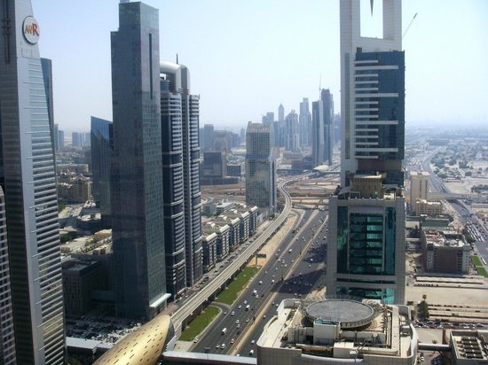 Four Points by Sheraton Sheikh Zayed Road, Dubai:                   vista panoramica