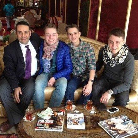 BEST WESTERN Antea Palace Hotel & Spa:                   Gruppenbild kurz der Abreise mit Geschäftsführer Mr. Güven