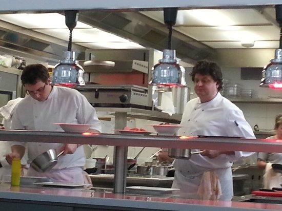 U Kastelana:                   The Chef, Michal Goth at work...
