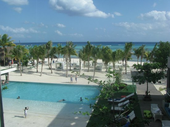 Sandos Caracol Eco Resort:                   View from room