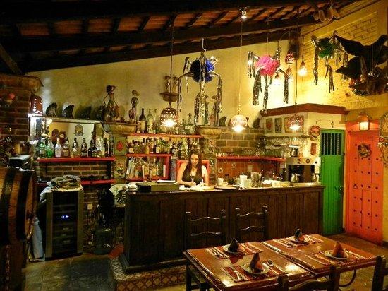 Rio San Pedro:                                     Bar area