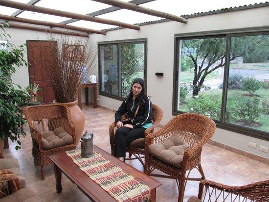 La Guarida Hotel:                   zona cercana a la recepcion