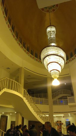 Kalakriti Cultural & Convention Center:                                     Kalakrii chandelier