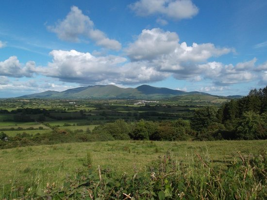 Ballyhoura Walking Trails : View from near the Sliabh Riadh Windmill.