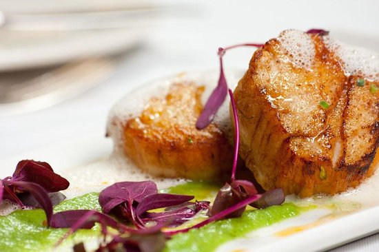 The French Manor : Pan Seared Scallops