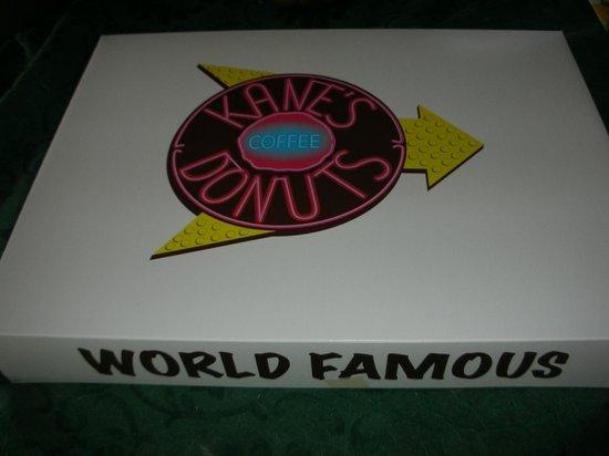 Kane's Donuts:                   New Kanes donut box