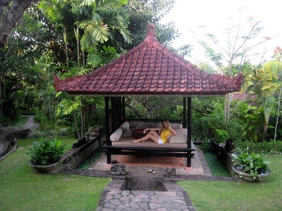 The Damai:                   Very nice pavilion near our bungalow                 