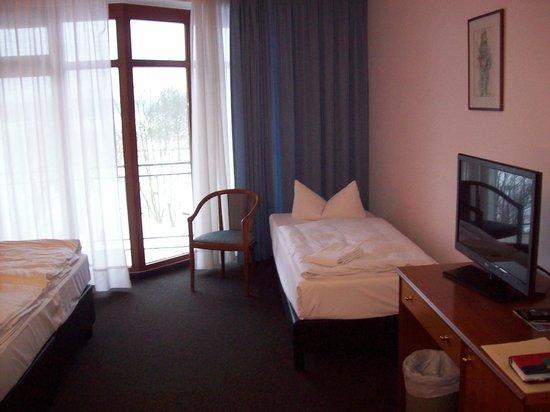 Spreewald Parkhotel: ... Einzelbett