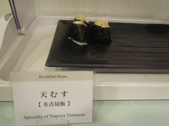Dai-Ni Fuji Hotel:                   朝食バイキング (天むす)