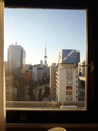 Dai-Ni Fuji Hotel:                   眺望 テレビ塔