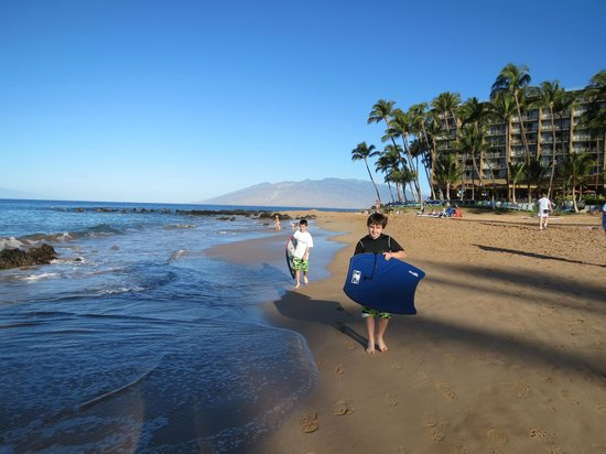Mana Kai Maui:                   beach