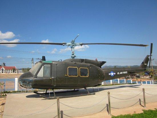 Ho Chi Minh Trail :                   Här en Bell helikopter som var med i striderna