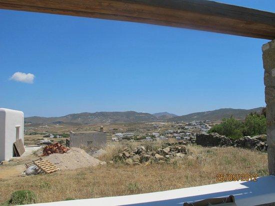 The A Hotel by Mykonos Arhontiko:                   panorama della campagna