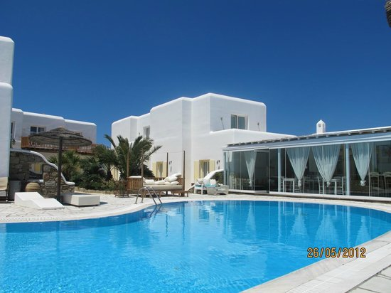 The A Hotel by Mykonos Arhontiko:                   oiscina !!!