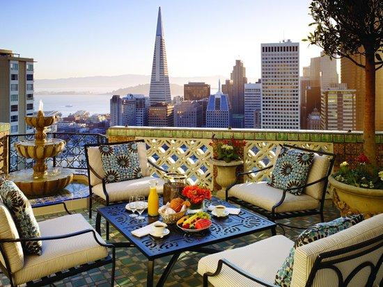Fairmont San Francisco: Penthouse Suite Balcony