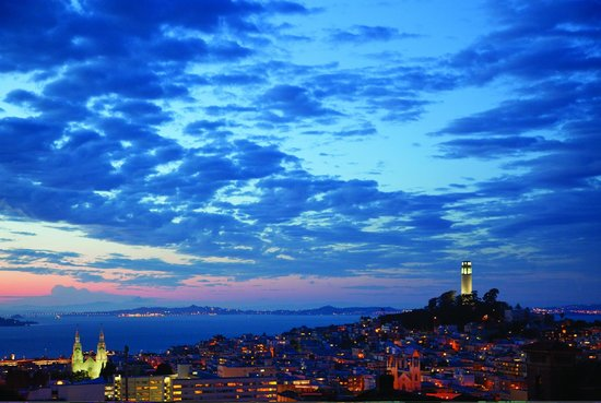 Fairmont San Francisco: San Francisco Skyline