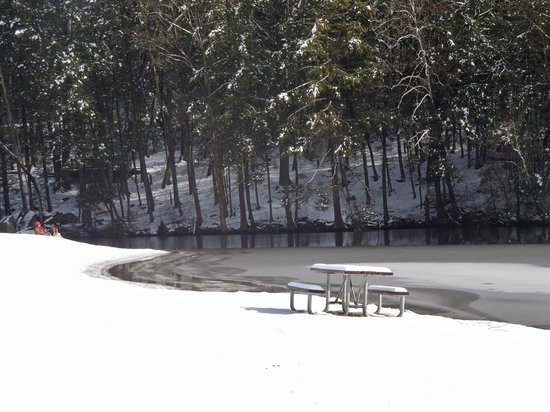 Kettletown State Park:                   A pretty place to visit in the winter time as well!