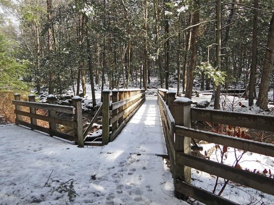 Kettletown State Park:                   great hiking in the winter