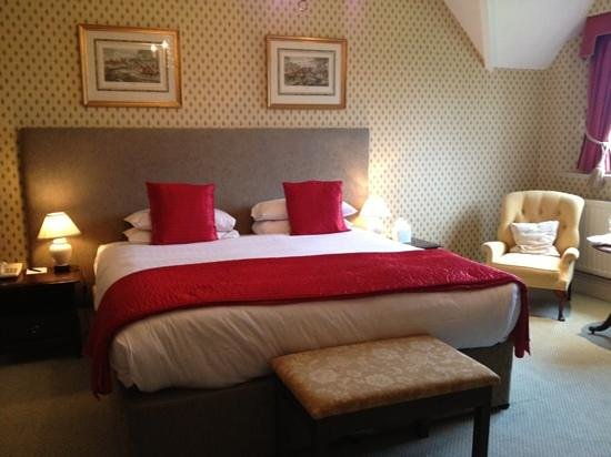 Eastwell Manor:                   one view of our beautiful room