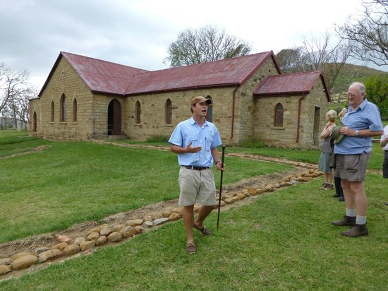 Fugitive's Drift Lodge and Guest House:                   CHARL AT RORKE'S DRIFT