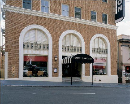 Hotel Carlton, a Joie de Vivre hotel: Hotel Entrance
