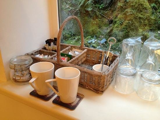 Afon Gwyn Country House:                   Tea and coffee facilities.