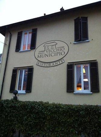 Vecchio Municipio:                   il ristorante