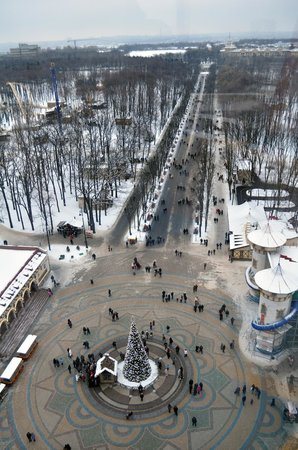 哈尔科夫高尔基公园的照片