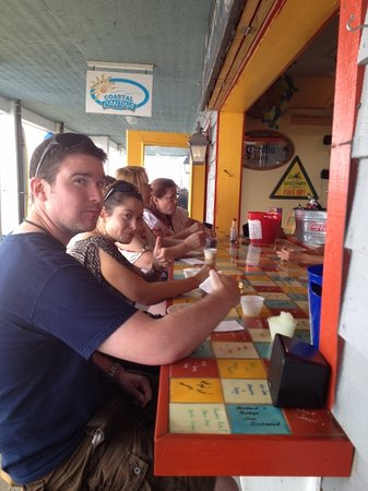 Outer Banks Restaurant Tours: Thumbs up for the food at Coastal Cantina