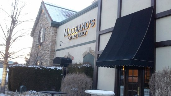 Maggiano's Little Italy:                   South view