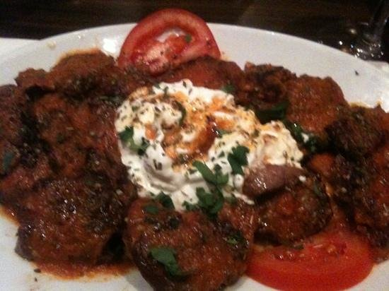 Ephesus Mediterranean Grill & Meze Bar:                   lamb İskender