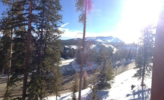 BlueSky Breckenridge:                   View from the room