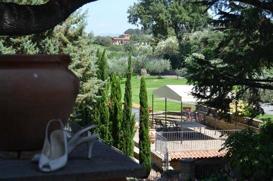 Green Hotel Poggio Regillo:                   vue de la chambre