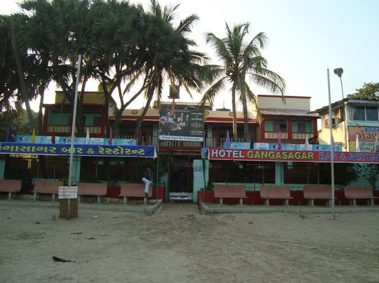 Hotel Gangasagar:                   hotel on the beach