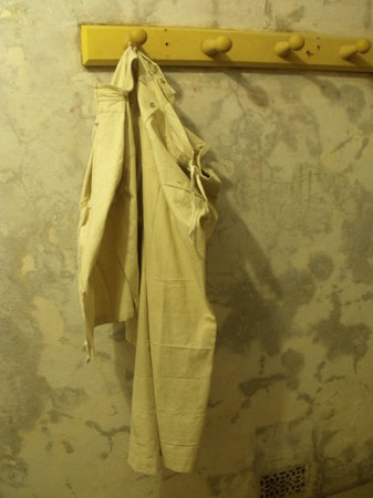 Landguard Fort:                   Protective clothing.