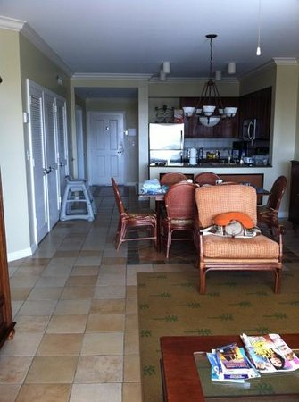 Hyatt Windward Pointe:                   2 bed suite