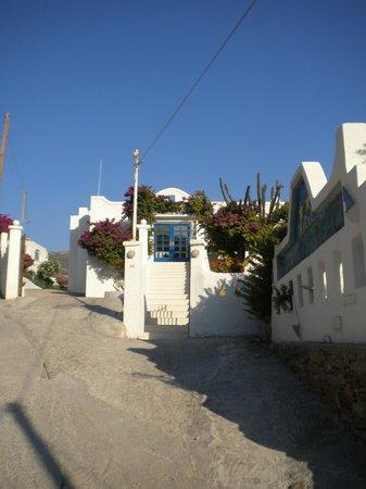 Marcos Beach Hotel:                   ingresso