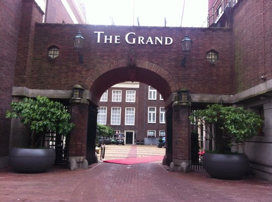 Sofitel Legend The Grand Amsterdam:                                     Entrance