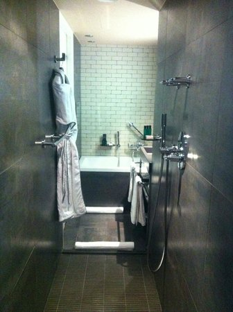 Sofitel Legend The Grand Amsterdam:                                     Walk through shower and bathroom