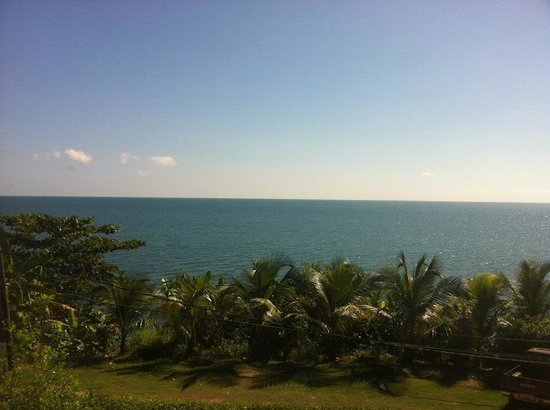 BlueBelize:                   View from the honeymoon suite