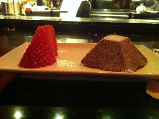 Benihana At The Grange Hotel St Pauls:                   Desert with £23 set menu