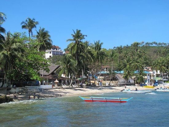 El Galleon Beach Resort & Hotel:                   The hotel from the beach area                 